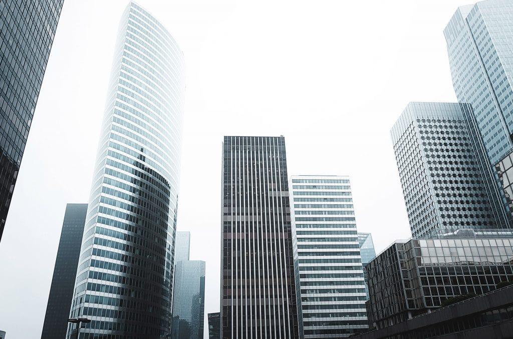 Downtown City Buildings