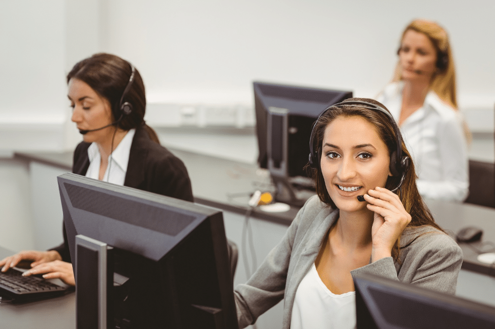 Call center sales training for large companies